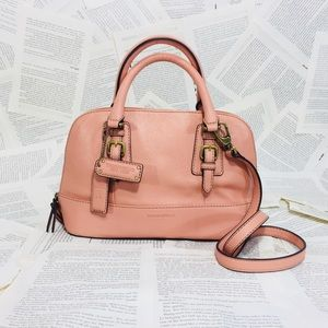 EUC! Tiganello Peach/Coral CrossBody Handbag
